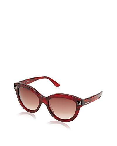 VALENTINO Occhiali da sole V695S 56 (56 mm) Rosso Scuro