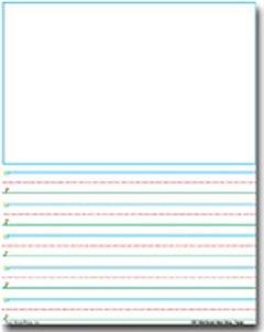 Story paper 360 smart start sky to ground handwriting series story