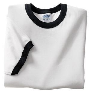 Gildan Ultra Cotton - Ringer T-Shirt White/Black-S - Buy Gildan Ultra Cotton - Ringer T-Shirt White/Black-S - Purchase Gildan Ultra Cotton - Ringer T-Shirt White/Black-S (Gildan, Gildan Mens Shirts, Apparel, Departments, Men, Shirts, Mens Shirts, Casual, Casual Shirts, Mens Casual Shirts)