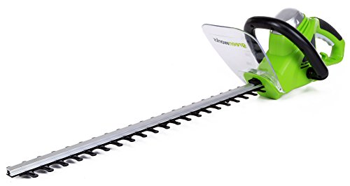 GreenWorks 2200102 4-Amp 22-Inch Corded Hedge Trimmer (Greenworks Bush Trimmer Cord compare prices)