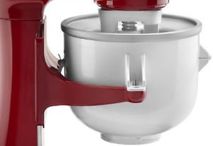 Ice Cream Attachment For Kitchenaid Mixer
