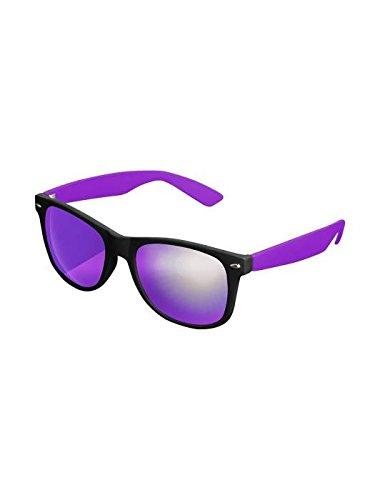 Masterdis Mstrds Shades Likoma Mirror Sunglasses UV400 Occhiali da Sole Specchiati Colore black/purple/purple