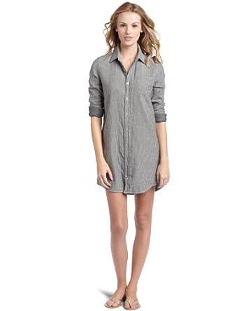 The Shirt by Joe's Jeans Women's Sexy Dress,Black/White,X-Small