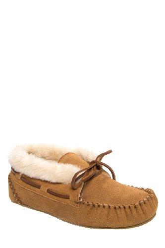 Minnetonka Chrissy Moccasin Bootie Flat Shoe