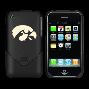 Football Fanatics Iowa Hawkeyes Black Team Logo Iphone Duo Shell Case