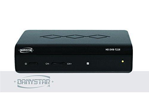 Decoder Digitale Terrestre HD Free con Funzione di Registrazione USB - Danystar HD DVB - Accessori per l'Elettronica Danystar®
