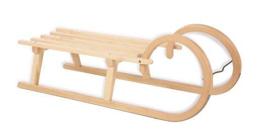 Pinolino Hörnerrodel, Holzfarbend, 232380