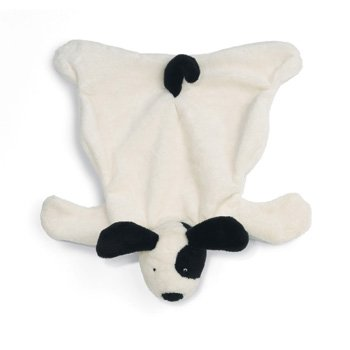 North American Bear Flatopup Baby Cozy - Black/White - 1