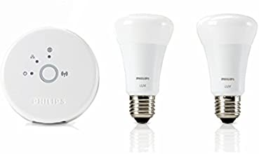 Philips LUX3SETCOM Lux Starter Kit Lampadina LED, E27
