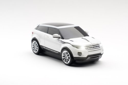 CLICK - Auto Range Rover Evoque Kabelose computermaus in weiss