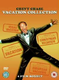 The Chevy Chase National Lampoon's Vacation Collection (4 Disc Box Set) [1983] [DVD]
