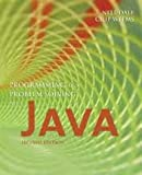img - for Programming and Problem Solving With Java 2nd (second) edition Text Only book / textbook / text book