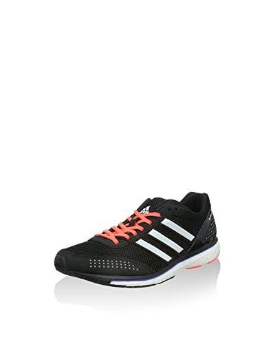 adidas Sneaker Adizero Adios Boost 2 schwarz/weiß/braun