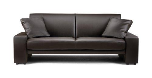 Julian-Bowen-Faux-Leather-Supra-Sofa-Brown