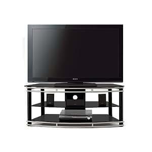 ginger 55 tv stand home entertainment centers. Black Bedroom Furniture Sets. Home Design Ideas