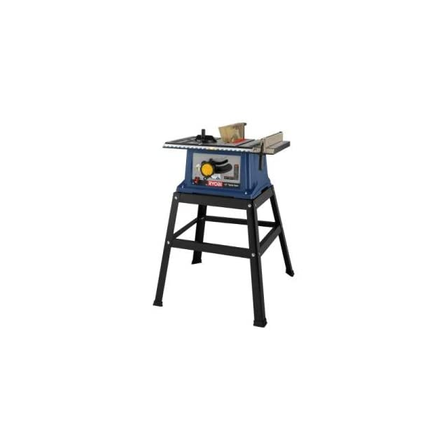 Ryobi 10 inch portable table saw w steel table for 10 inch ryobi table saw