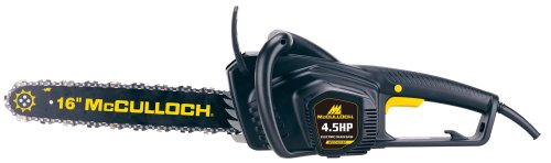 McCulloch MCC4516FK 16-Inch 4.5-Hoprsepower Electric Chain Saw with Case