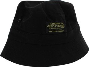 Element Enlist Black Large / X-Large Bucket Hat