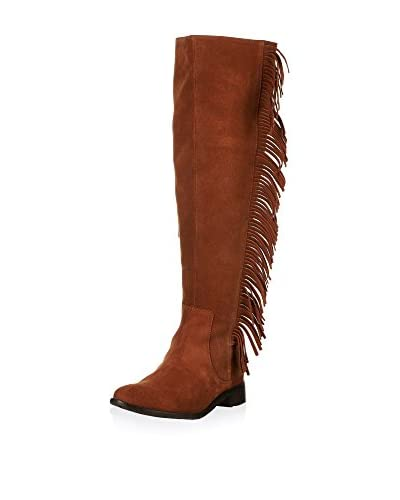 Cortefiel Botas Fringes High Boot