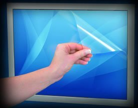 """Posrus Antiglare Touch Screen Protector For 17"""" Touch Screen Or Lcd Screen - 13.305"""" X 10.64"""" (339Mm X 272Mm)"""