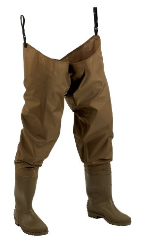 Hodgman  Mackenzie Nylon/PVC Hip Wader With Cleated Soles, 13