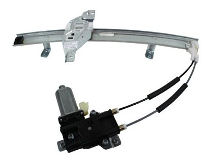 TYC 660165 Pontiac Grand Prix Front Passenger Side Replacement Power Window Regulator Assembly with Motor