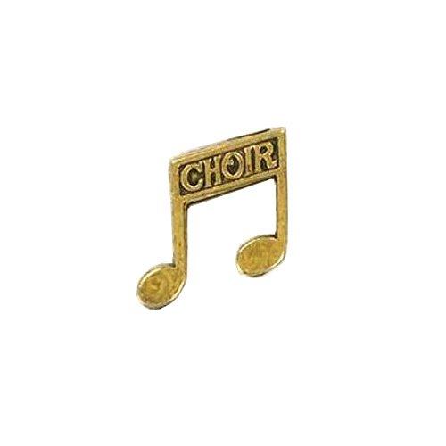 Choir Notes Lapel Pin
