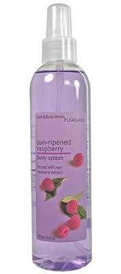Bath Body Works Pleasures Sun Ripened Raspberry Body Splash 8 Oz from Bath & Body Works