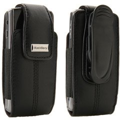 OEM Blackberry 8100 Leather Case with Clip Hdw-15994-001 from BlackBerry
