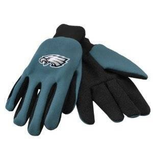 Philadelphia Eagles Youth Size Two Tone Gloves