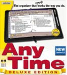 Any Time Deluxe 6.0 Personal Organizer Calendar and Scheduler