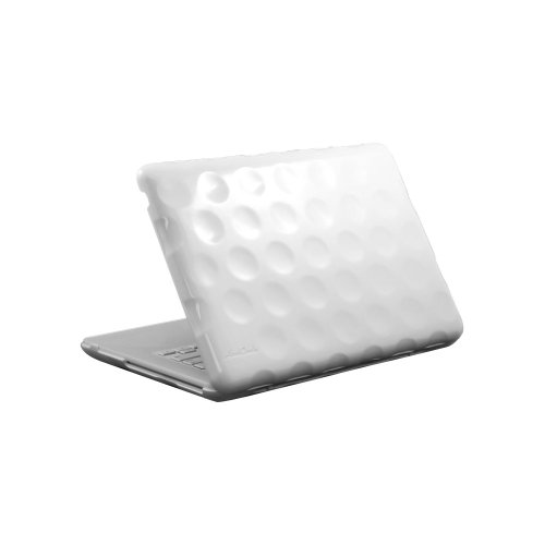 Hard Candy Cases Bubble Shell Case for Apple MacBook 13-inch, White, (BS-MAC13-WHI)