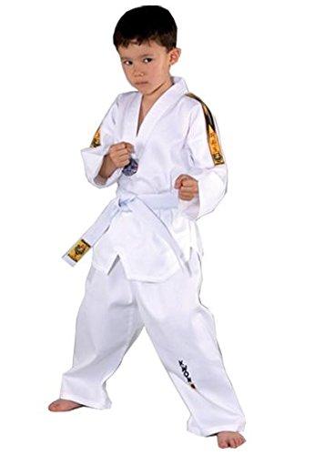 Taekwondo uniform Tiger by KWON, white, 551005, Size110