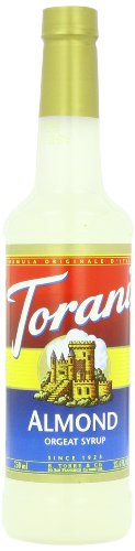 Torani Syrup, Almond, 25.4 Ounce (Pack Of 4)