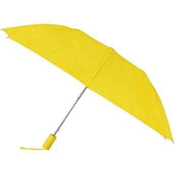 Rainkist Compact Auto Open Folding Umbrella (Yellow)