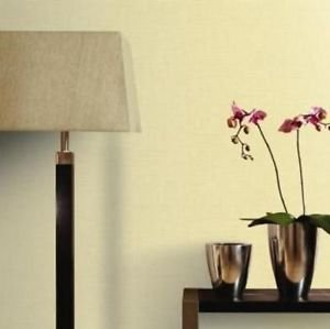 Sanctuary Japanese Silk Wallpaper - Straw by New A-Brend