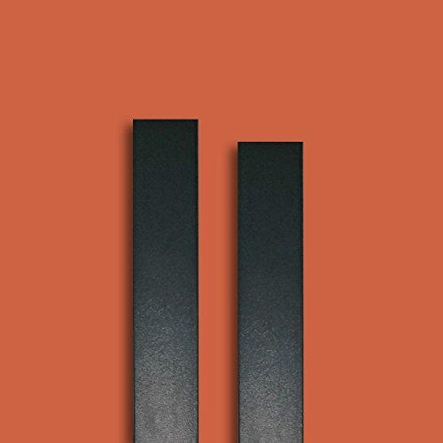 fensterleiste anthrazitgrau glatt ral 7016 30 mm breit 6m lang flachleiste abdeckleiste dekor. Black Bedroom Furniture Sets. Home Design Ideas