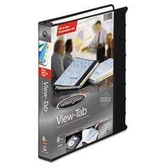 ** View-Tab Round Ring Presentation Binder, 8-Tab Style, 1\