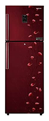 Samsung RT28K3922RZ Frost Free Freezer-on-Top Free-Standing Refrigerator (253 Ltrs, 2 Star Rating, Tender Lily...