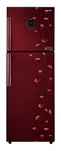 Samsung RT28K3922RZ Frost Free Freezer on Top Free Standing Refrigerator  253 Ltrs, 2 Star Rating, Tender Lily Red  Freezer on Top FreezeronTop Free S available at Amazon for Rs.25750