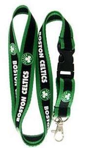 NBA Boston Celtics Lanyard Keychain Holder