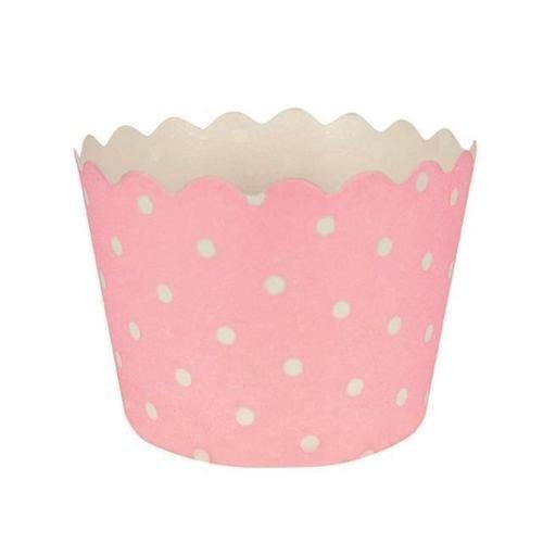Classic de lunares de color rosa para tartas/x 24 moldes para cupcakes