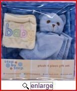 Plush Gift Set Gift Basket Blue