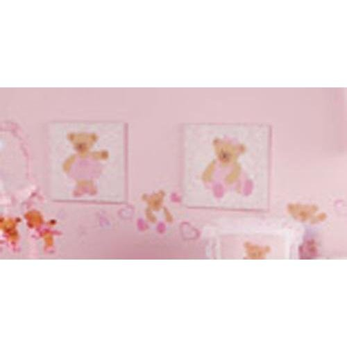 Kids Line Canvas Wall Art - 2 Pc. - Twirling Around