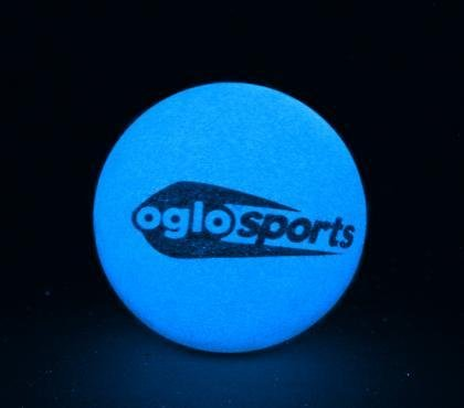 "Oglo Sports Glow in the Dark 2.25"" High Bounce Ball - Various Colors - 1"