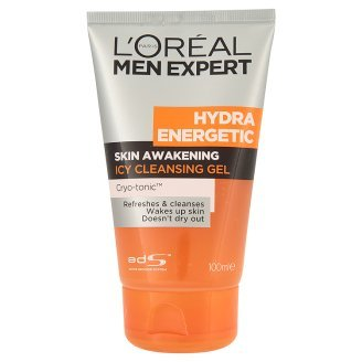 Wazashop Loral Paris Men Expert Hydra Energetic Skin Awakening Icy Cleansing Gel 100ml Product Of Thailand from Thailand