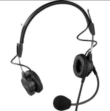 Telex PH44R - Lightweight Dual-Sided Headset for RTS 4-Pin Male Connector (Bosch Headset compare prices)