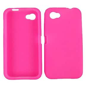 Cell Armor Deluxe Silicone Skin Case for HTC First - Retail Packaging - Magenta