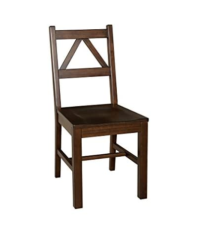 Linon Home Décor Titian Chair, Antique Tobacco