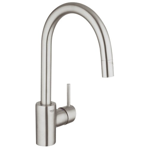 Grohe Conetto Single Handle Pull-Down Spray Kitchen Faucet